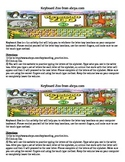 Keyboarding- Direction Sheet for Keyboard Zoo (Online Game) from abcya.com