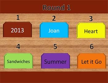 Keyboarding Game - Six Clues