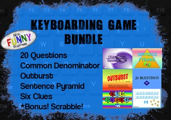 Keyboarding Games - 6-Game Bundle!