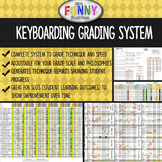 Keyboarding Grading System for Technique & Speed