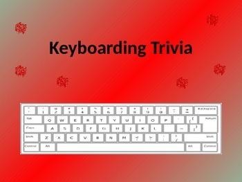 Keyboarding- Keyboarding Trivia- PowerPoint Game (Review o