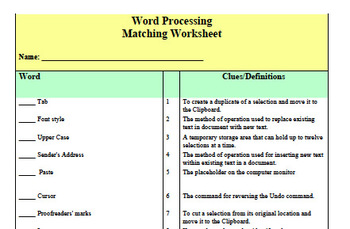 Keyboarding Letter Writing Worksheets Combo Pack
