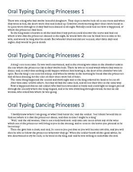 Keyboarding - Oral Typing Dancing Princesses