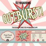 Keyboarding Outburst Game