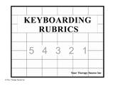 Keyboarding Rubrics