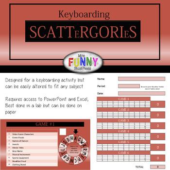 Keyboarding Scattergories
