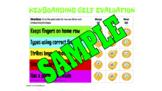 Keyboarding Self-Evaluation Rubric