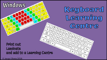 Keyboarding Skills Cards and Activities Learning Centre