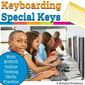 Keyboarding Special Keys Practice in Google Slides {Bonus