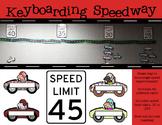 Keyboarding Speedway Bulletin Board