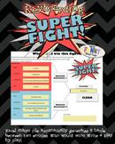 SuperFight Icebreaker Creative Writing or Keyboarding Game