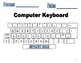 Keyboarding Time Student Workbook. Tailored to those students with IEP's. 54 Pgs