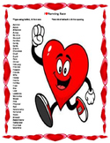 Keyboarding- Typing Games- I Heart Running  Race