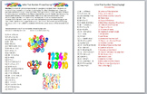 Keyboarding- Typing Games- Solve That Number Phrase/Saying! Game