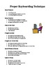 Personal Keyboarding: Unit Plan (MS Word Version)