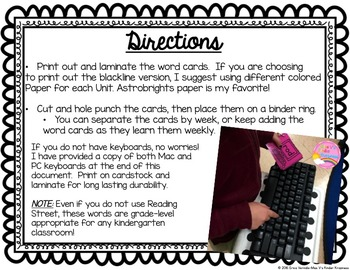 Keyboarding for Kindergarteners!