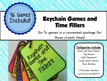 Keychain Games and Time Fillers
