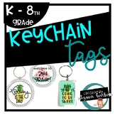 Keychain Tag Template