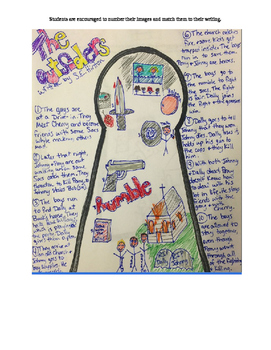 Keyhole Book Report- Any Book- With EXAMPLES