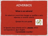 Keynote Presentation of ADVERBS (for Spanish class)