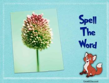 Keynote Spelling Game