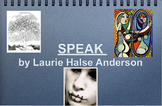 Keynote introduction for the novel Speak by Laurie Halse Anderson