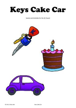 Keys Cake Car