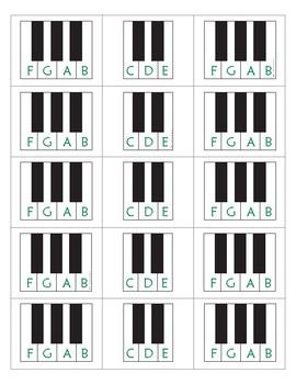 Keys Flash Cards