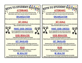 Keys To Student Success