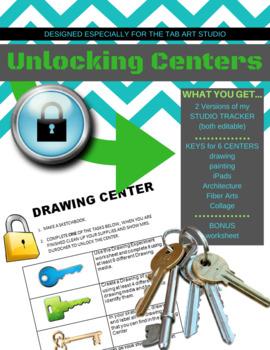 Keys for Unlocking Centers in the Art Studio