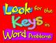 Keys in Word Problems Freebie