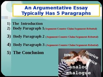 Argumentative Essay Writing Keys