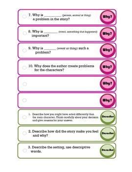 Comprehension- Keys to Reading