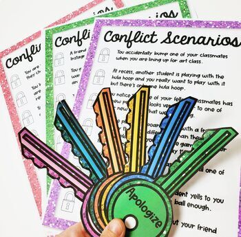 Keys to Conflict activity for Resolving Conflicts