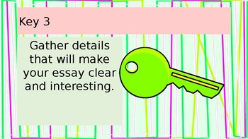 Keys to Effectively Writing an Essay