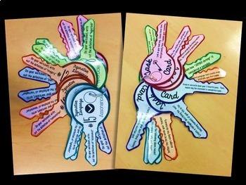 Keys to Figurative Language Task Cards: Grades 5-8