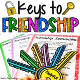 Keys to Friendship activity for Google Classroom Distance