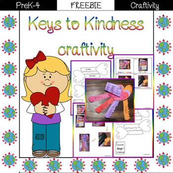 Keys to Kindness Craftivity