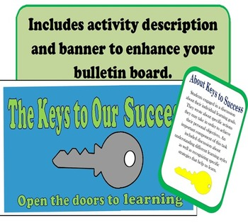 Keys to Success Bulletin Board