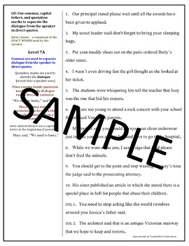 Editing Paragraphs For Capitalization And Punctuation