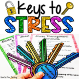 Keys to Stress Management activity for Google Classroom Di