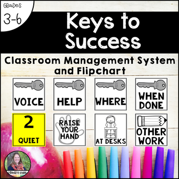 Keys to Success: A Classroom Management System and Flipchart