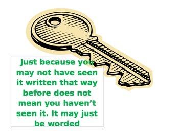 Keys to Test Taking