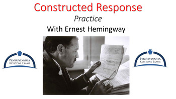 Constructed Response ELA Writing Practice PowerPoint
