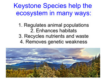 Keystone Species and Trophic Cascades