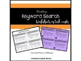Keyword Internet Search VA SOL 3.7a, 4.6a