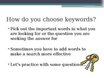 Keyword Searching Searches Online Research Using Keywords and Boolean Operators