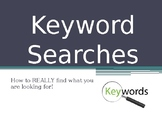 Keyword Searching Searches Online Research Using Keywords