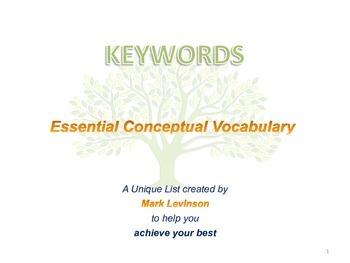 Keywords 1