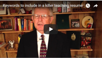 Keywords to Include in a Killer Teaching Resume